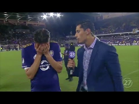 Kaka emotional interview after playing last game for Orlando