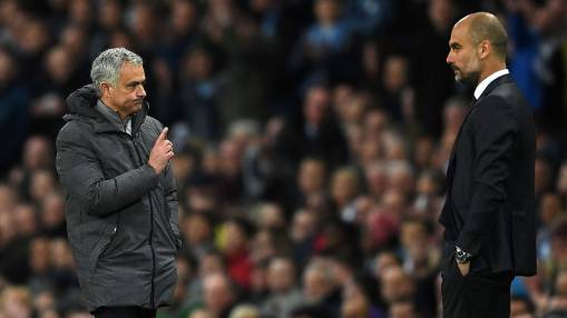Premier League title race with Man City, Man United a study in contrasts