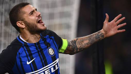 Mauro Icardi gets 10/10 as hat trick earns Inter win against Milan