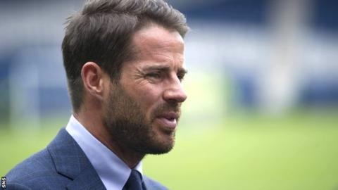 Celtic: Jamie Redknapp backs Brendan Rodgers to be target for a top-four English club