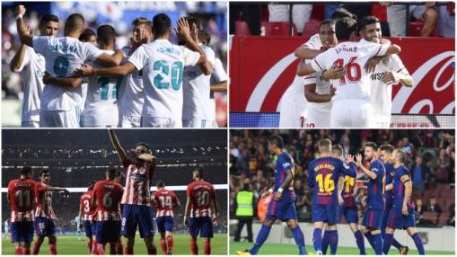 Key Champions League clashes in store for LaLiga quartet