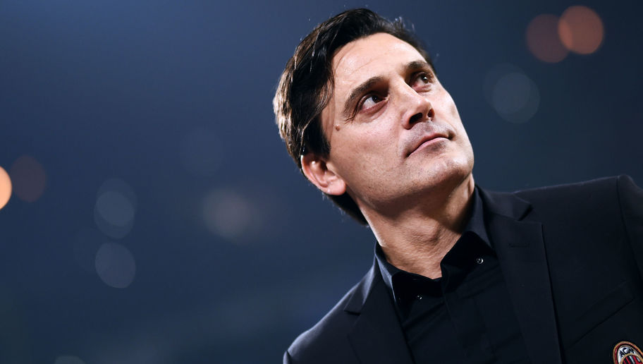 AC Milan Boss Vincenzo Montella Publicly Backed by Board After Slumping to Third Straight Defeat