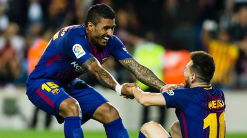 Paulinho: It's a privilege to help Lionel Messi be the world's best player