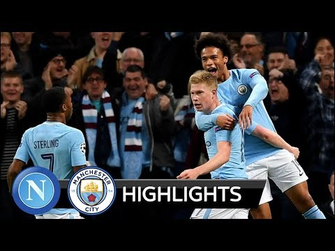 Manchester City vs Napoli 2-1 - All Goals & Extended Highlights - Champions League 17/10/2017 HD