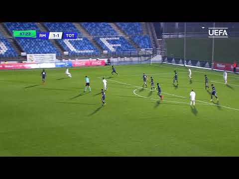 UEFA Youth League highlights: Real Madrid v Tottenham