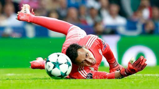 Keylor Navas earns Real Madrid a point vs. Spurs with sparking performance