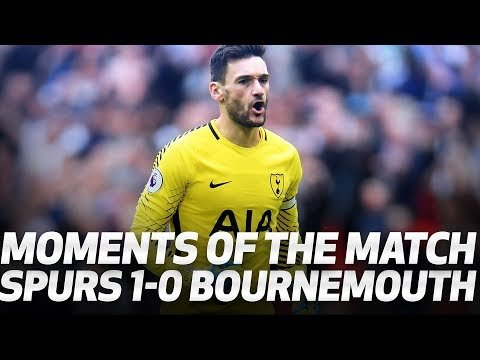 MOMENTS OF THE MATCH | Spurs 1-0 AFC Bournemouth