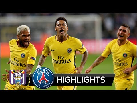 Anderlecht vs PSG 0-4 - All Goals & Extended Highlights - Champions League 18/10/2017 HD