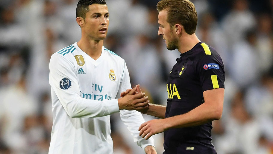 Harry Kane Couldn't Contain His Excitement After Swapping Shirts With 'Role Model' Ronaldo