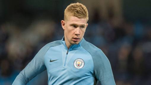 Kevin De Bruyne thinks Man City and Man United will fight out title