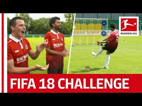 Hannover's Surprise Performance - EA Sports FIFA 18 Bundesliga Free Kick Challenge