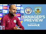 AGUERO IS READY FOR TOMORROW! | Manchester City vs Burnley | Press Conference