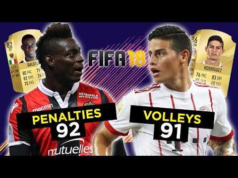 The Best FIFA 18 Players At Finishing, Strength & More!
