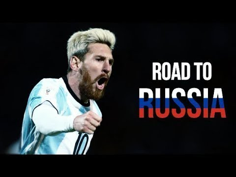 Lionel Messi - Road to Russia 2018 - By AlexComps