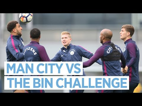 MAN CITY VS THE BIN CHALLENGE