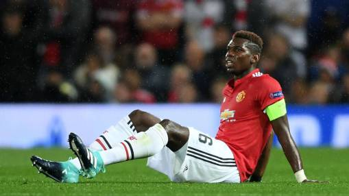 Jose Mourinho does not know when Paul Pogba will return from injury