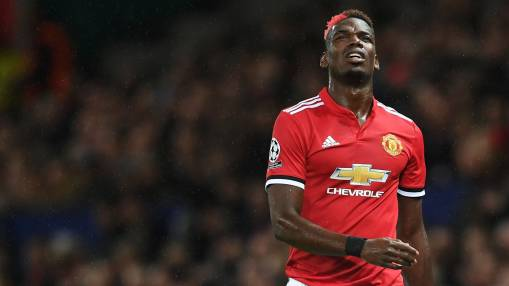 Pogba's return date still a mystery to Mou