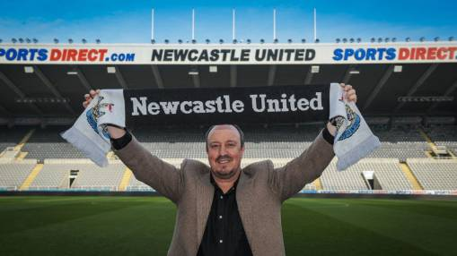 Rafa Benitez sees bright future ahead for Newcastle with new ownership