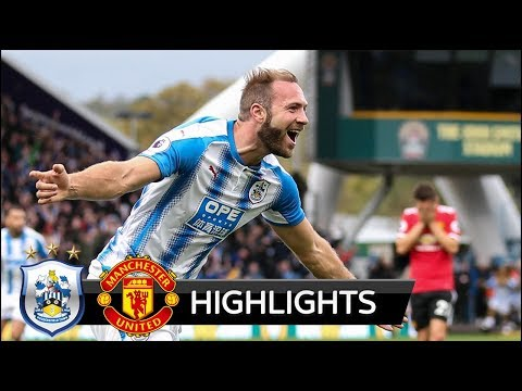 Huddersfield Town vs Manchester United 2-1 - All Goals & Extended Highlights - 21/10/2017 HD