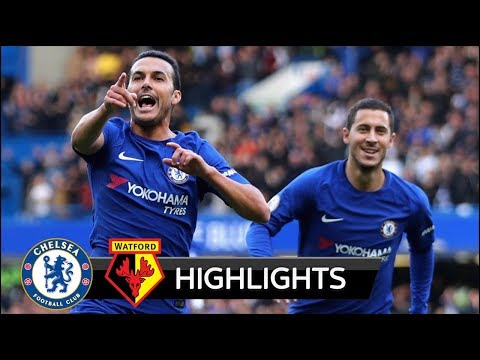 Chelsea vs Watford 4-2 - All Goals & Extended Highlights - 21/10/2017 HD