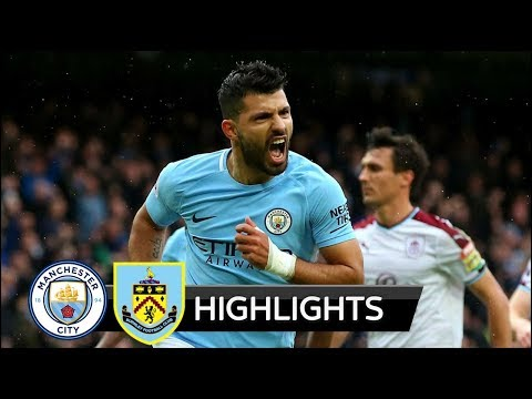 Manchester City vs Burnley 3-0 - All Goals & Extended Highlights - 21/10/2017 HD