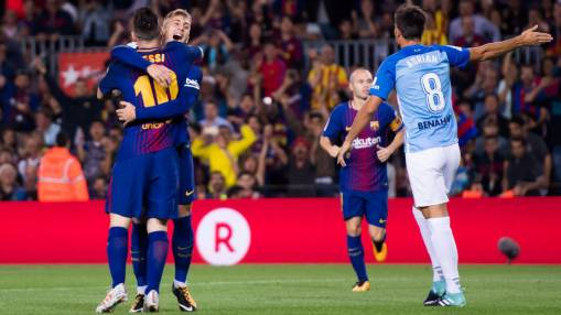 Deulofeu takes his chance, Iniesta turns back the clock in Barca win