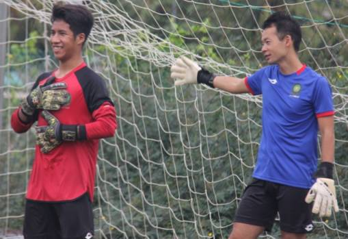 Aspiring Brunei goalkeepers get valuable tips from Suzuki Daichi
