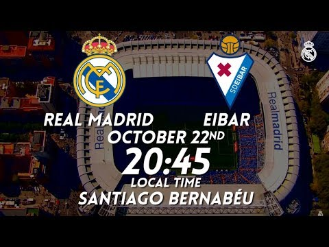 PREVIEW | Real Madrid vs Eibar