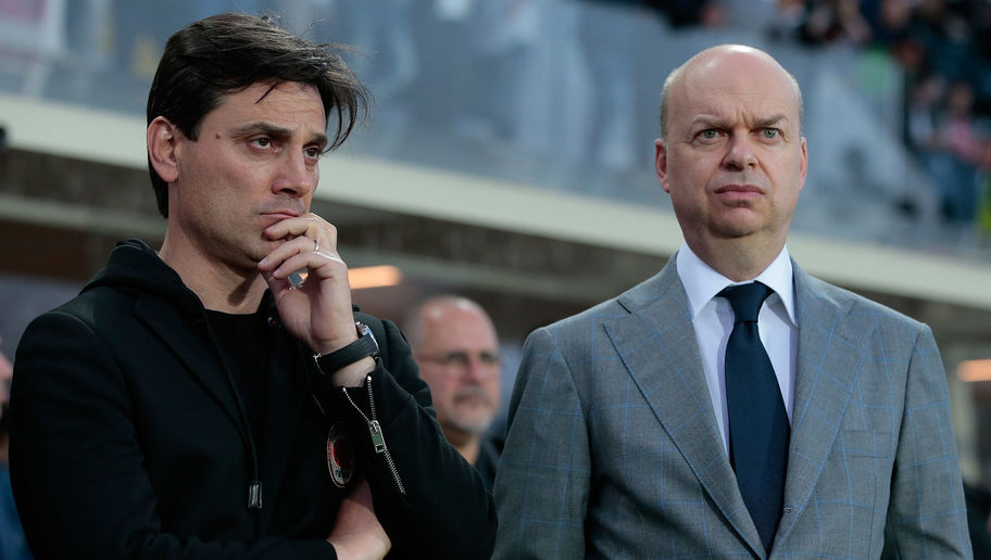 Marco Fassone Reveals AC Milan Will Have to Sell Two Top Players if They Don't Qualify for Europe