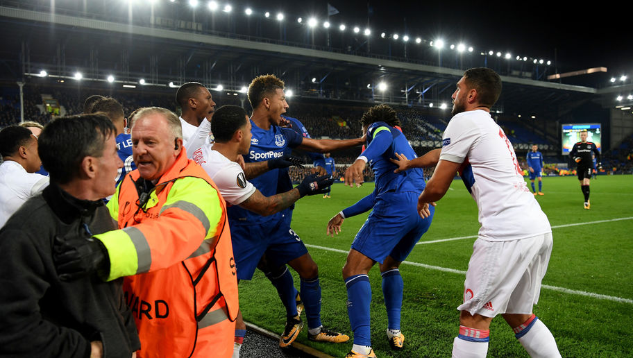 Everton Fan Who Threw Punch at Lyon Goalkeeper Feels 'Ashamed' and Accepts Ban