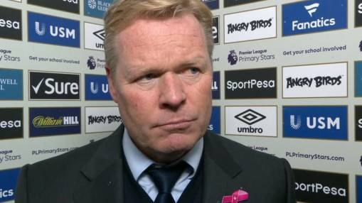 Everton boss Ronald Koeman: My future is out of my hands