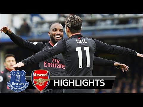 Everton vs Arsenal 2-5 - All Goals & Extended Highlights - 22/10/2017 HD