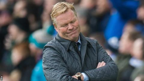 'Koeman is paying for cold approach & transfer failures'