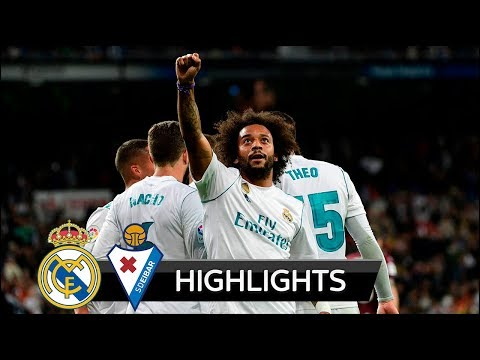 Real Madrid vs Eibar 3-0 - All Goals & Extended Highlights - La Liga 22/10/2017 HD