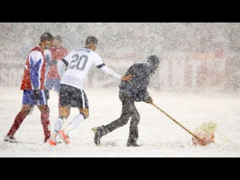 Football Matches With Crazy Weather ● HD