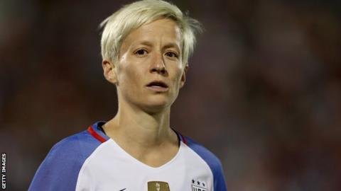Megan Rapinoe: 'Fifa doesn't care about women's football'