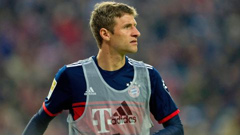 Müller out for three weeks Bayern's Thomas Müller has been sidelined with a thigh injury. vor 2 Stunden