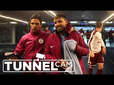 Tunnel Cam | City 3-0 Burnley