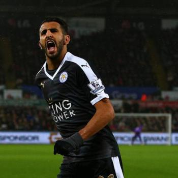 AS ROMA back on Riyad MAHREZ