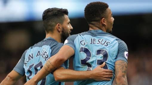 Sergio Aguero deserves to be Man City's top goalscorer - Gabriel Jesus