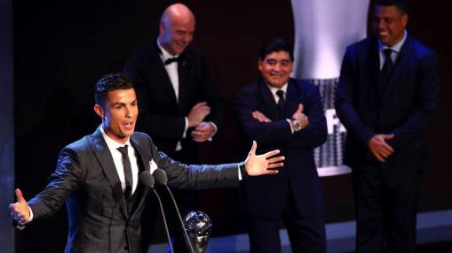 Diego Maradona: Giving FIFA award to Ronaldo and not Messi 'hurt my soul'