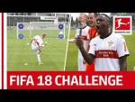 Record Breakers and Surprises - EA Sports FIFA 18 Bundesliga Free Kick Challenge - VfB Stuttgart