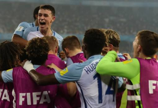 England come from behind to win FIFA U-17 World Cup