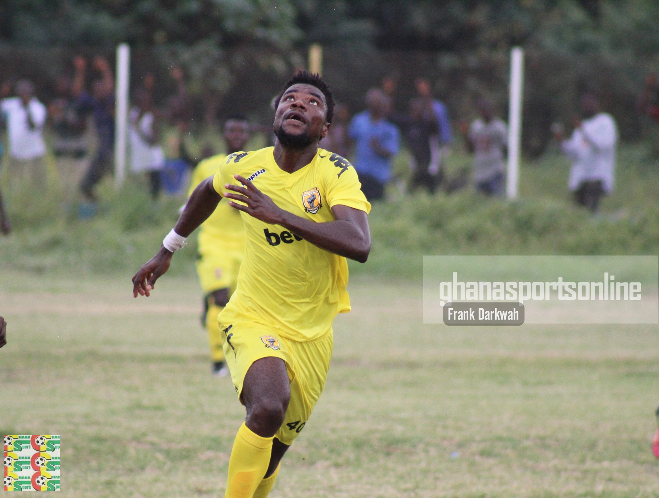 AshGold defender Abeiku Ainooson refuses to blast referee Prosper Adii over 'fake' penalty to Kotoko