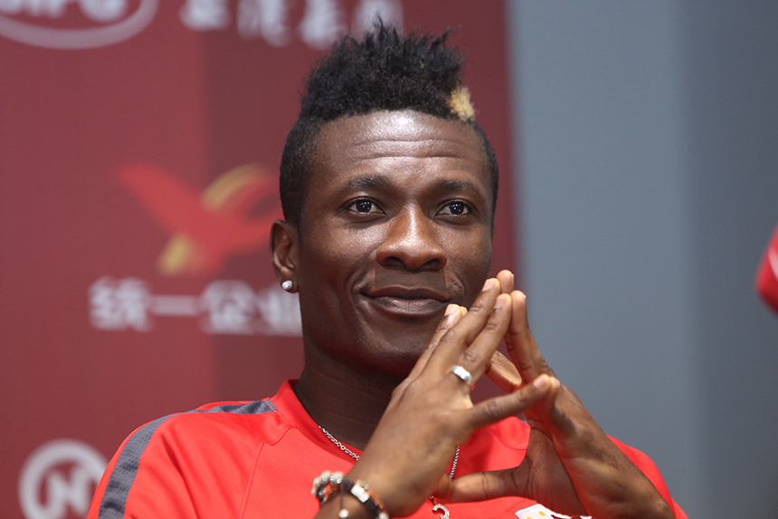 Asamoah Gyan claims Real Madrid wanted to sign him after superb form at Sunderland