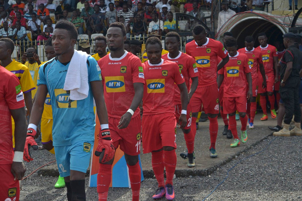 Match Report: Asante Kotoko 1-1 AshantiGold - Late Saddick Adams penalty earns draw for Porcupine Warriors