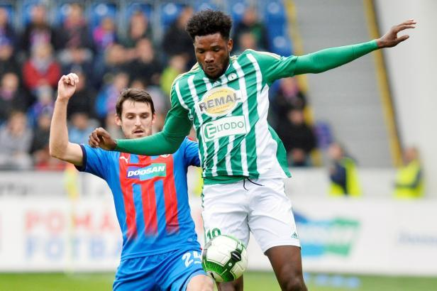 Bohemians 1905 striker Benjamin Tetteh recovering from back injury