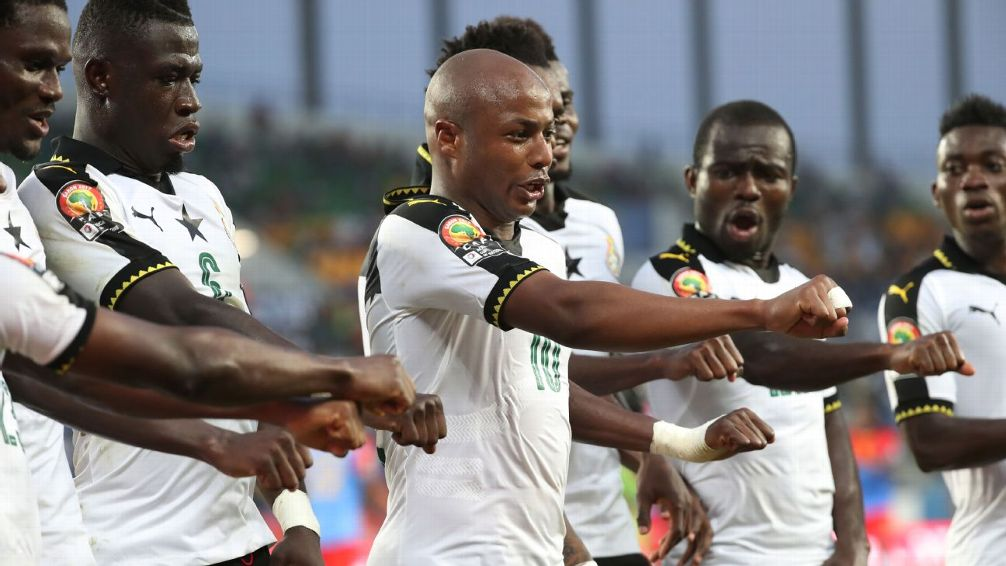 Ghana among 5 countries that suffered shock failures to reach the 2018 World Cup