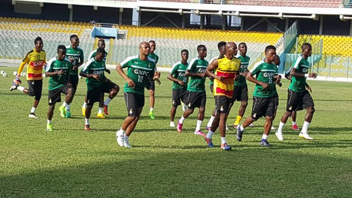 2021 AFCON qualifier: Black Stars to start training on Monday in Accra for South Africa clash