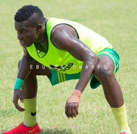 Ebusua Dwarfs defender Christopher Bonney denies bribery allegations against him